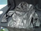 EXPRESS Coat/Jacket BLACK LEATHER JACKET